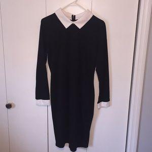 Black Dress...think Wednesday Addams
